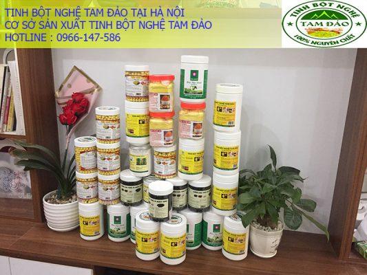 Mua bán tinh bột nghệ tại Hà Nội