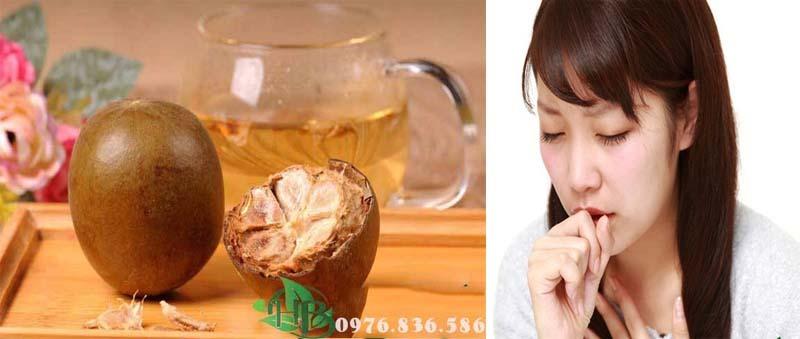Quả La Hán hỗ trợ điệu trị ho viêm họng hiệu quả