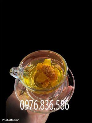 Sử dụng trà hoa vàng giúp giảm cân duy trì voc dáng hiệu quả
