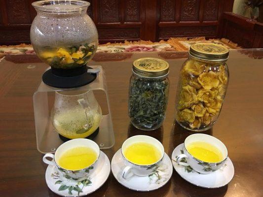Sử dụng trà hoa vàng thời điểm nào trong ngày tốt nhất?