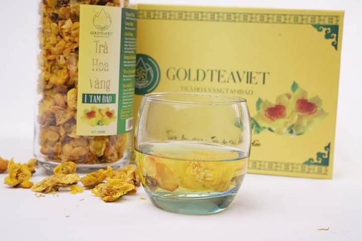 Báo giá trà hoa vàng Tam Đảo sấy nóng
