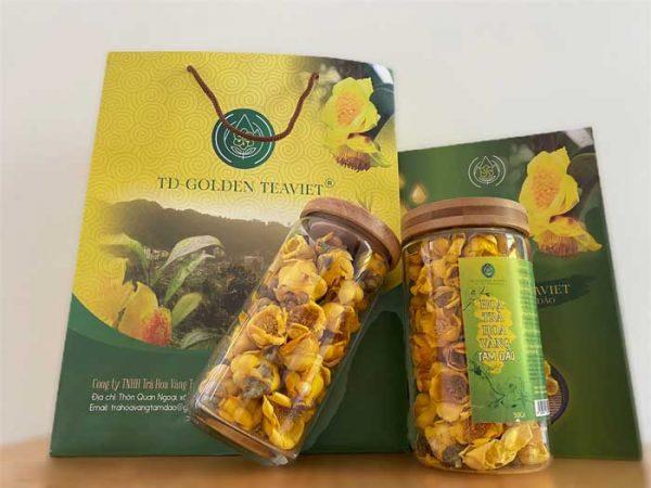 Trà hoa vàng Tam Đảo sấy nóng