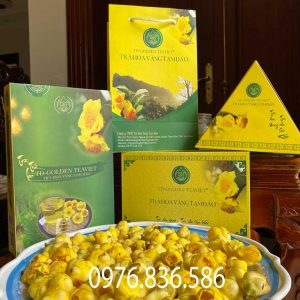 Cách chế biến và các thành phần có trong trà hoa vàng