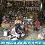 Địa chỉ cửa hàng mua bán sỉ lẻ dược liệu tại Hà Nội