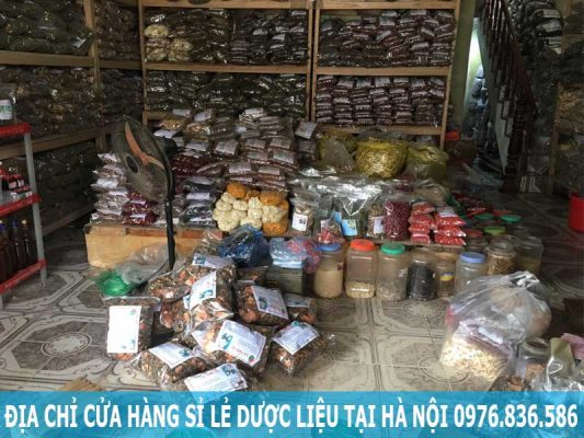 Địa chỉ cửa hàng sỉ lẻ dược liệu tại Hà Nội