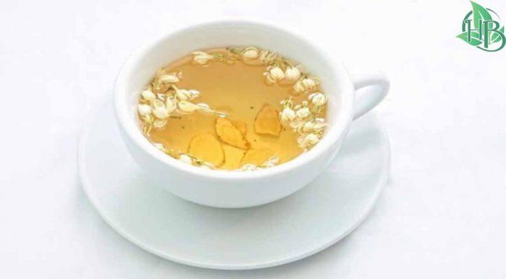 trà hoa nhai giúp tăng cường hệ miễn dịch