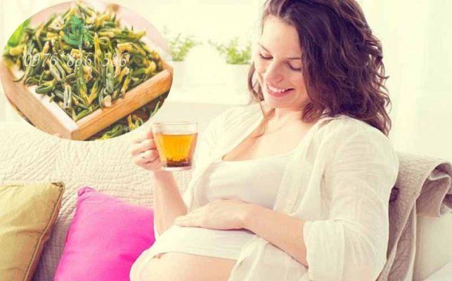 Phụ nữ mang thai uống tâm sen