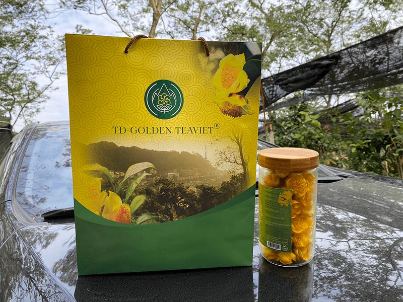 sản phẩm trà hoa vàng
