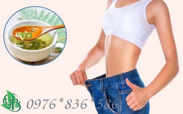 Tâm sen giúp giảm cân