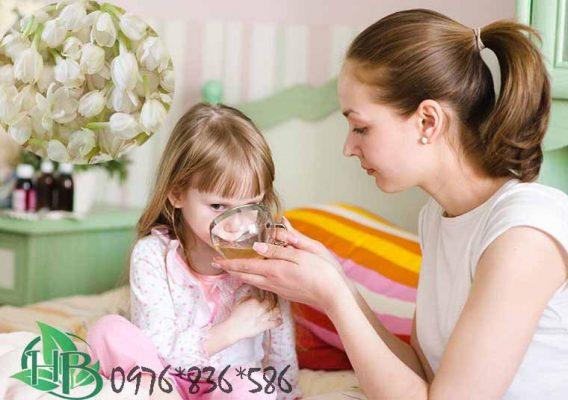 Trẻ em có được uống trà hoa nhài không