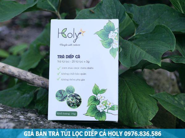 Giá bán trà túi lọc diếp cá HOLY