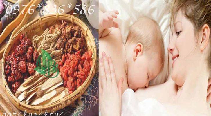 Phụ nữ sau sinh dùng sâm đương quy