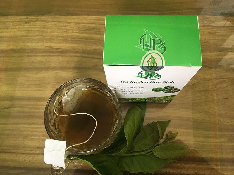 Uống trà xạ đen túi lọc vào buổi tối và những lưu ý 3