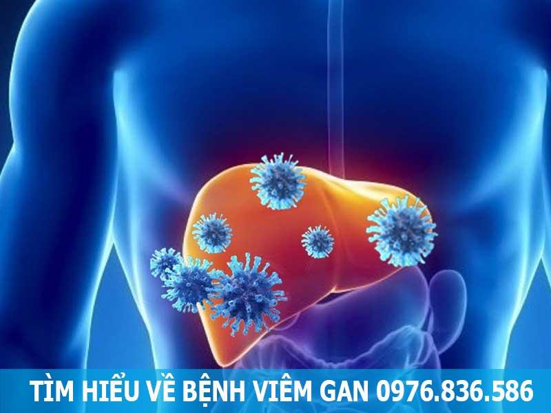 tìm hiểu về bệnh viêm gan