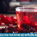 Cách pha trà atiso đỏ thơm ngon
