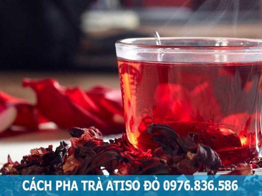 cách pha trà atiso
