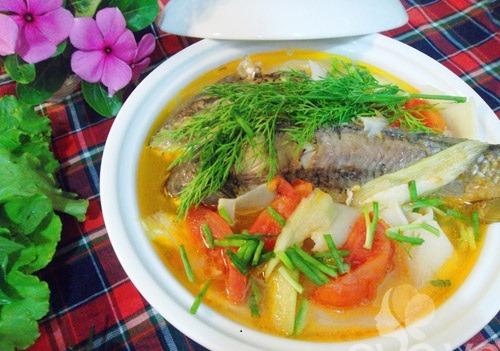 Hướng dẫn nấu canh cá chép ngon tuyệt